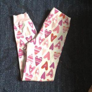 Girls Valentine cotton Hanna Jammie pants 130 8yr